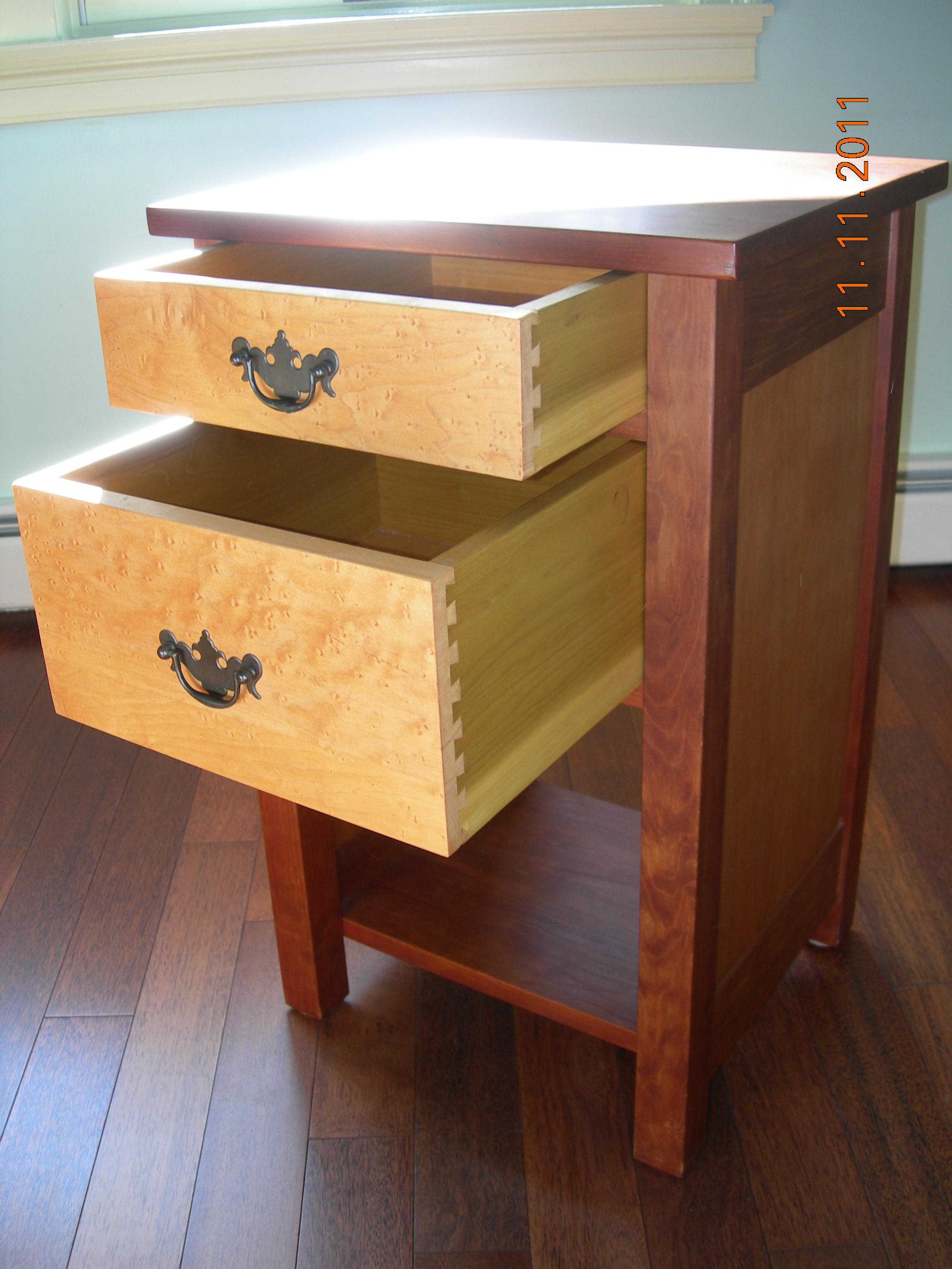 Deep drawers