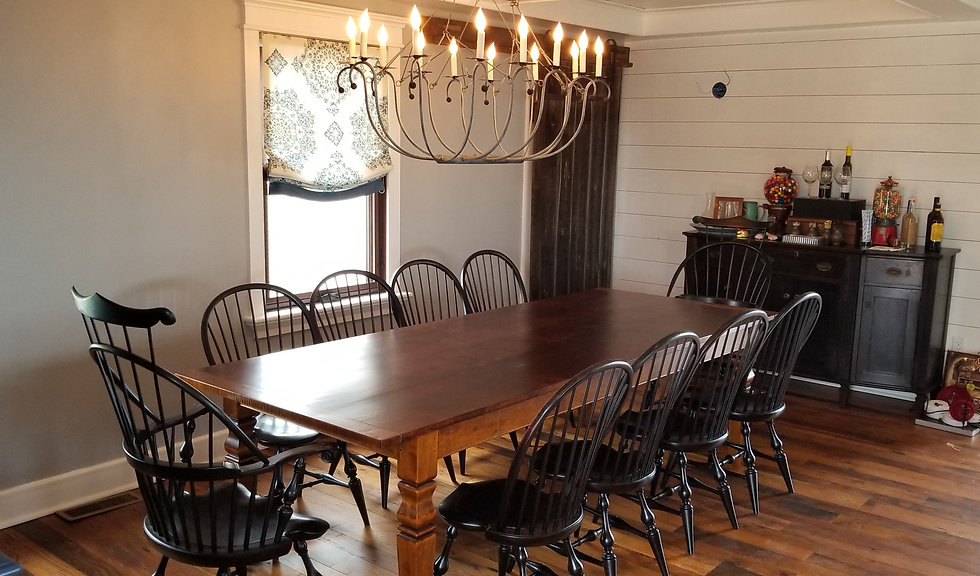 Reclaimed wood Farm Tables & Handmade Farm Tables