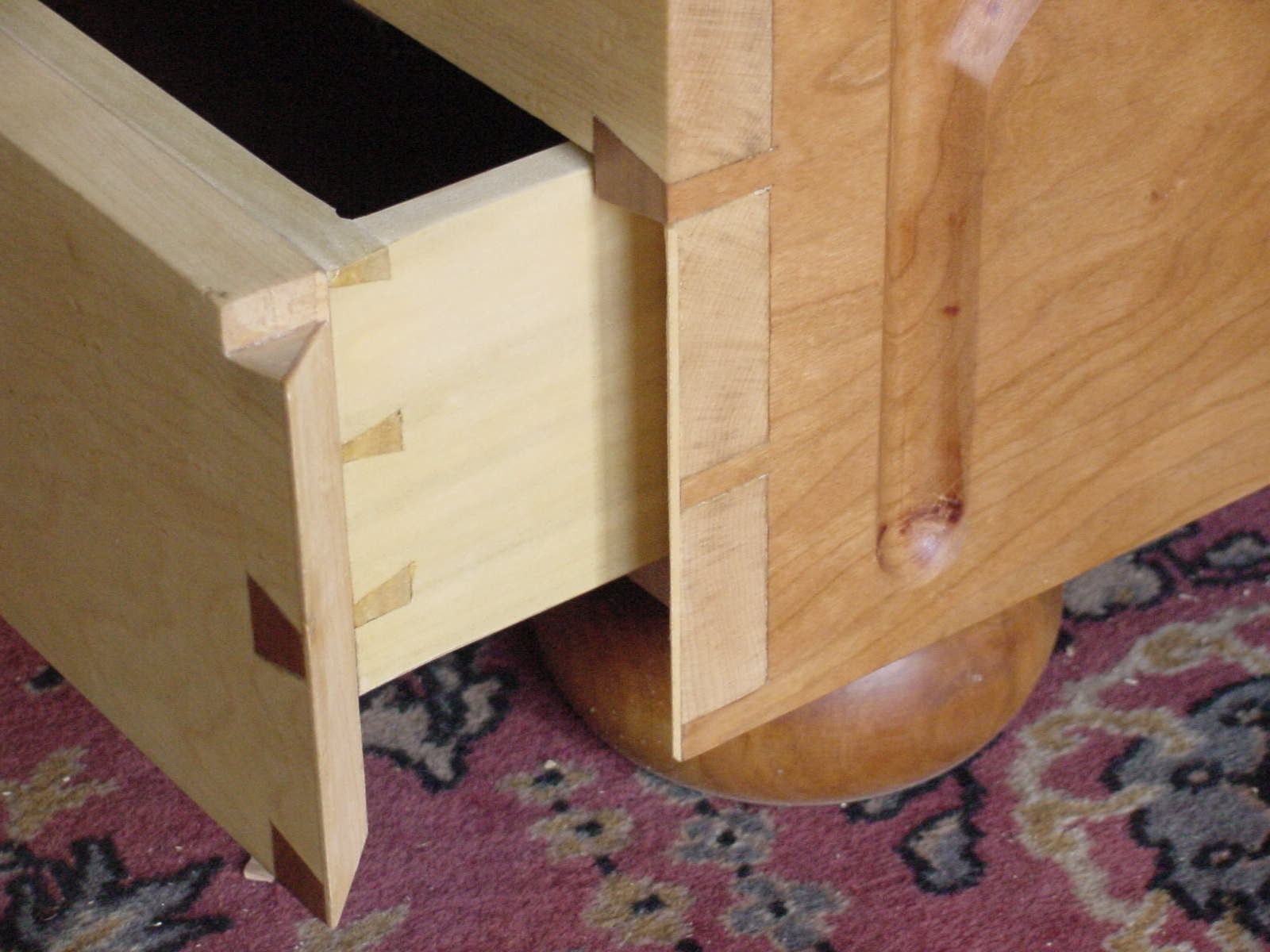 disappearing dovetails