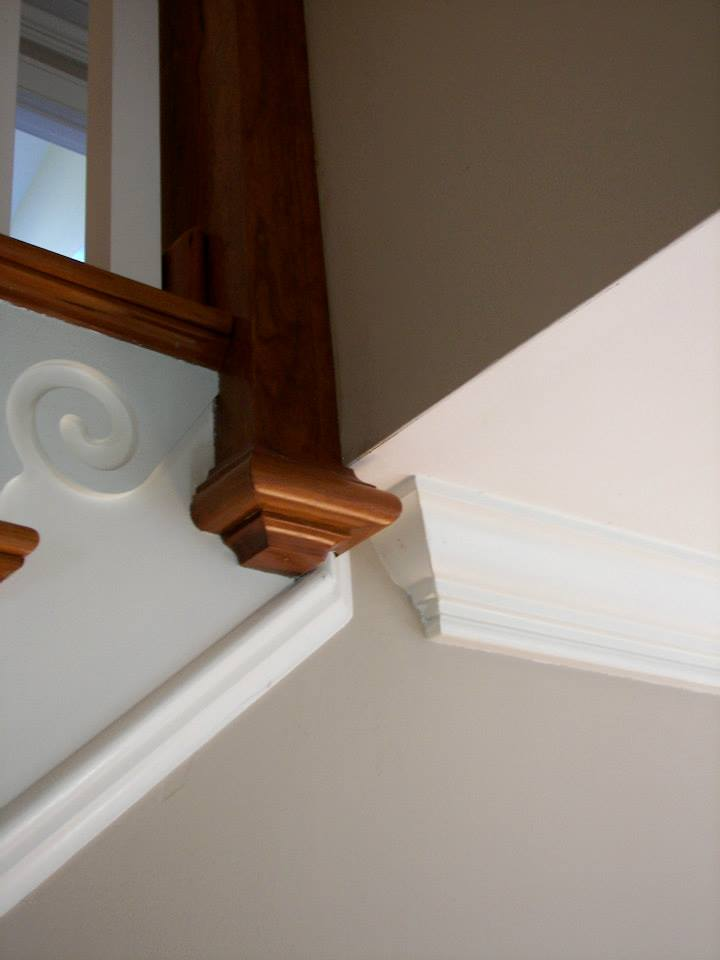 Custom stair componant