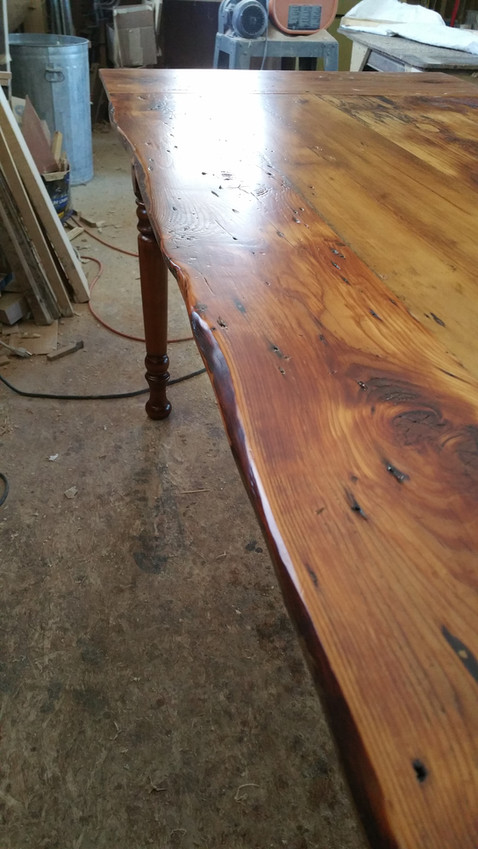 natural top table