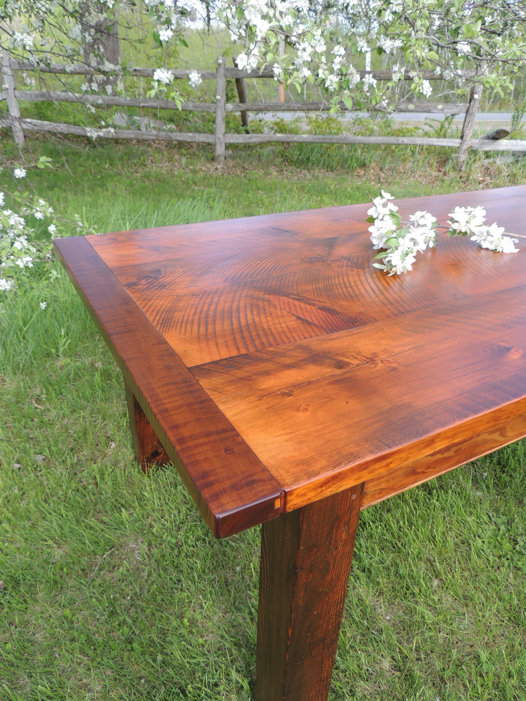 Rustic Pine and Tiger Maple...