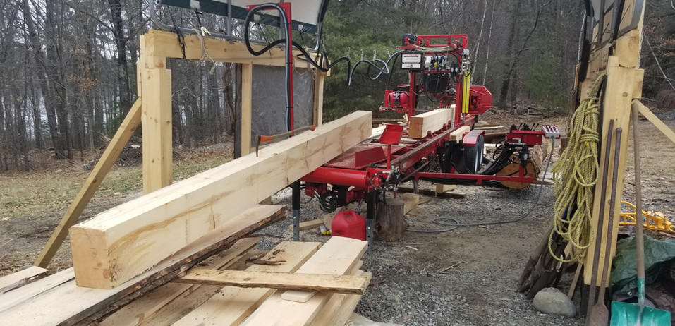 New England Joinery's saw mill