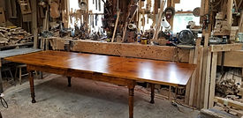 Solid Maple Center-leaf table
