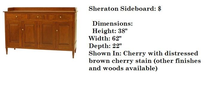 Sheraton Sideboard