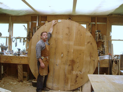 7ft round table
