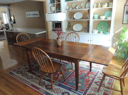 Reclaimed Pine top table #1