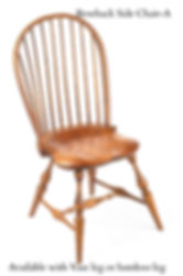 Traditional Bowback side chair