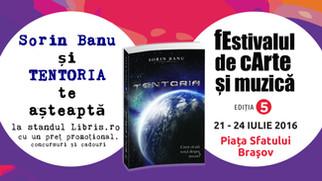 """Romanul SF """"TENTORIA"""" la fEstivalul de cArte și muzică Brașov"""