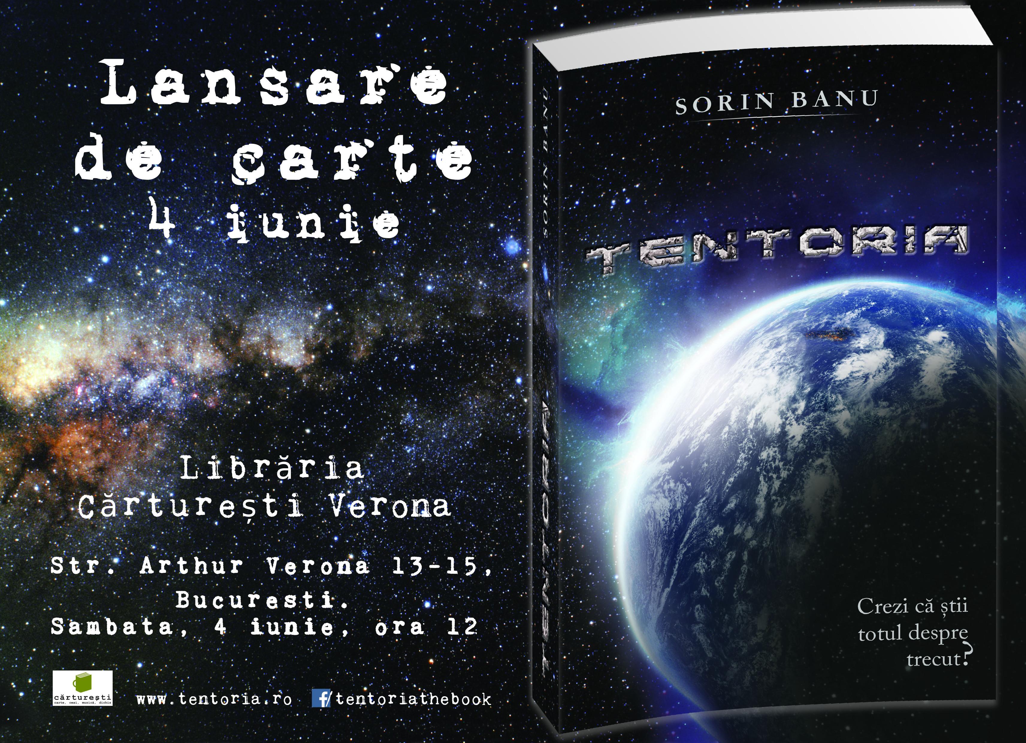 Poster lansare TENTORIA