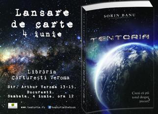 Lansarea cartii TENTORIA