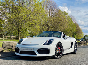 Porsche Boxster Spyder For Sale