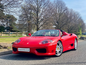 Ferrari 360 Spider F1 For Sale