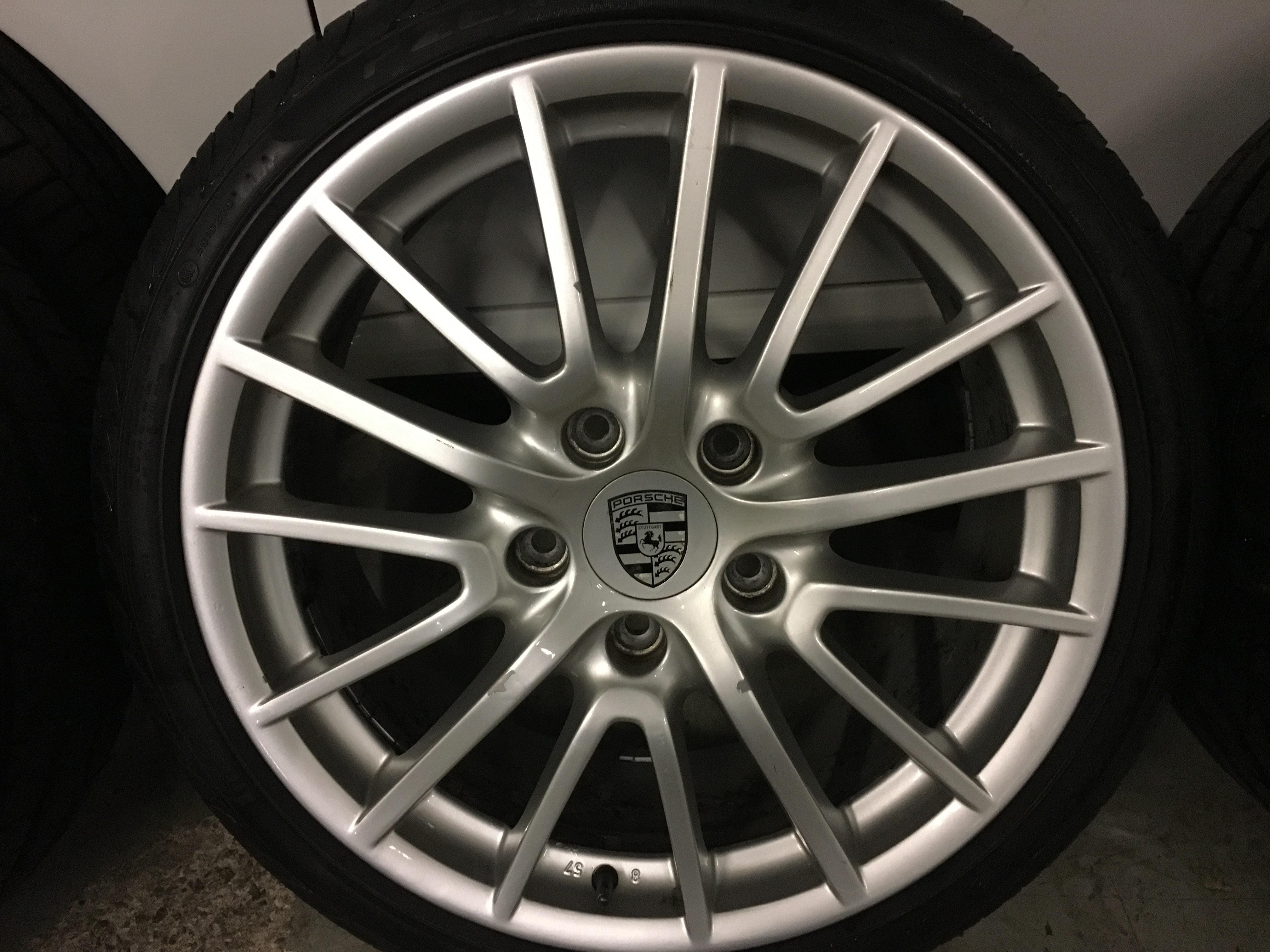 Porsche 911 Rims >> Genuine Porsche 911 997 C4s Targa Sport Design 19 Wheels Tyres Turbo Pirelli Gt