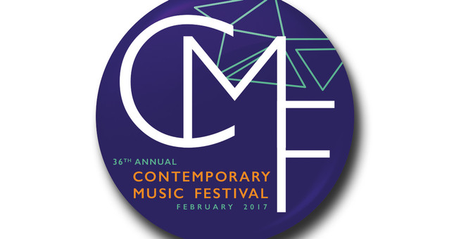 Contemporary Music Festival | Pin Badge