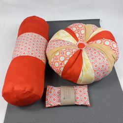 Orange yoga set