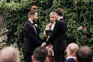 Chloe Celebrant same sex wedding ceremony