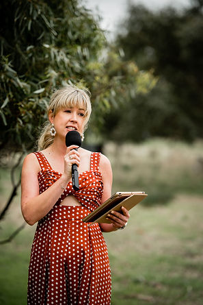 Chloe Celebrant - Nic Stephens Photography
