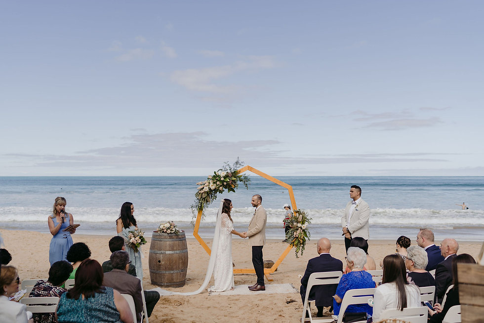 Michael Briggs Photography, Beach Wedding Celebrant