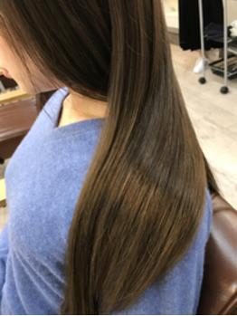 綺麗な髪が一番綺麗