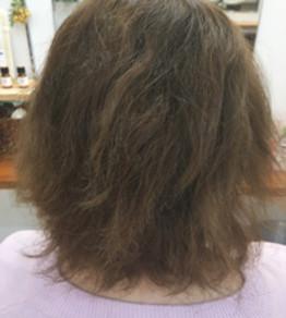 本日はこだわりのダメージレス縮毛矯正をご紹介します。