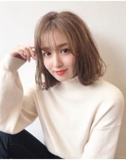 大人気シースルーバングと外ハネボブ☆YAMA