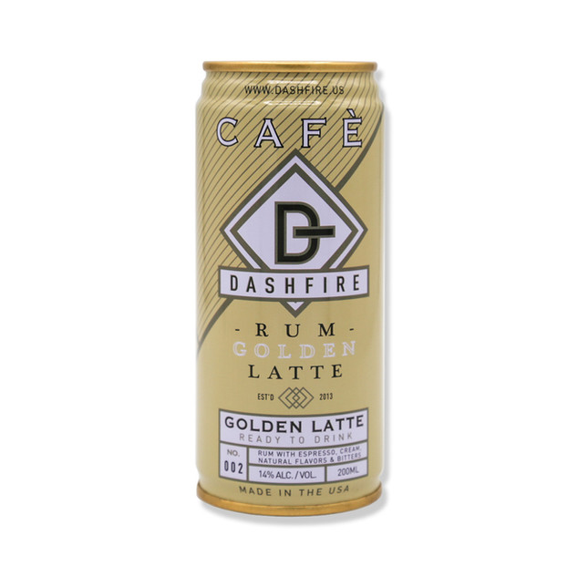 Rum Golden Latte can