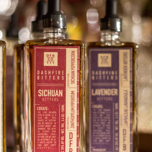 Sichuan and Lavender Cocktail Bitters