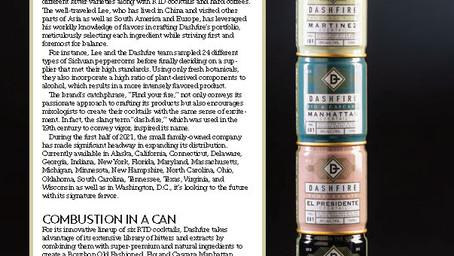 Dashfire Featured in The Tasting Panel Magazine
