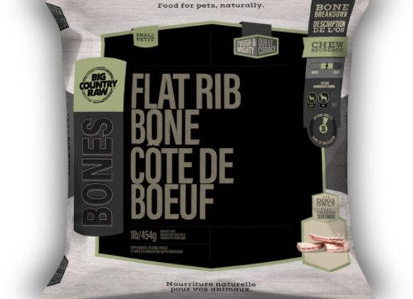 Flat Rib Bone Mini