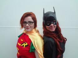 Robin & Batgirl Cosplay