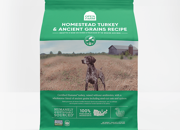 Homestead Turkey With Ancient Grains