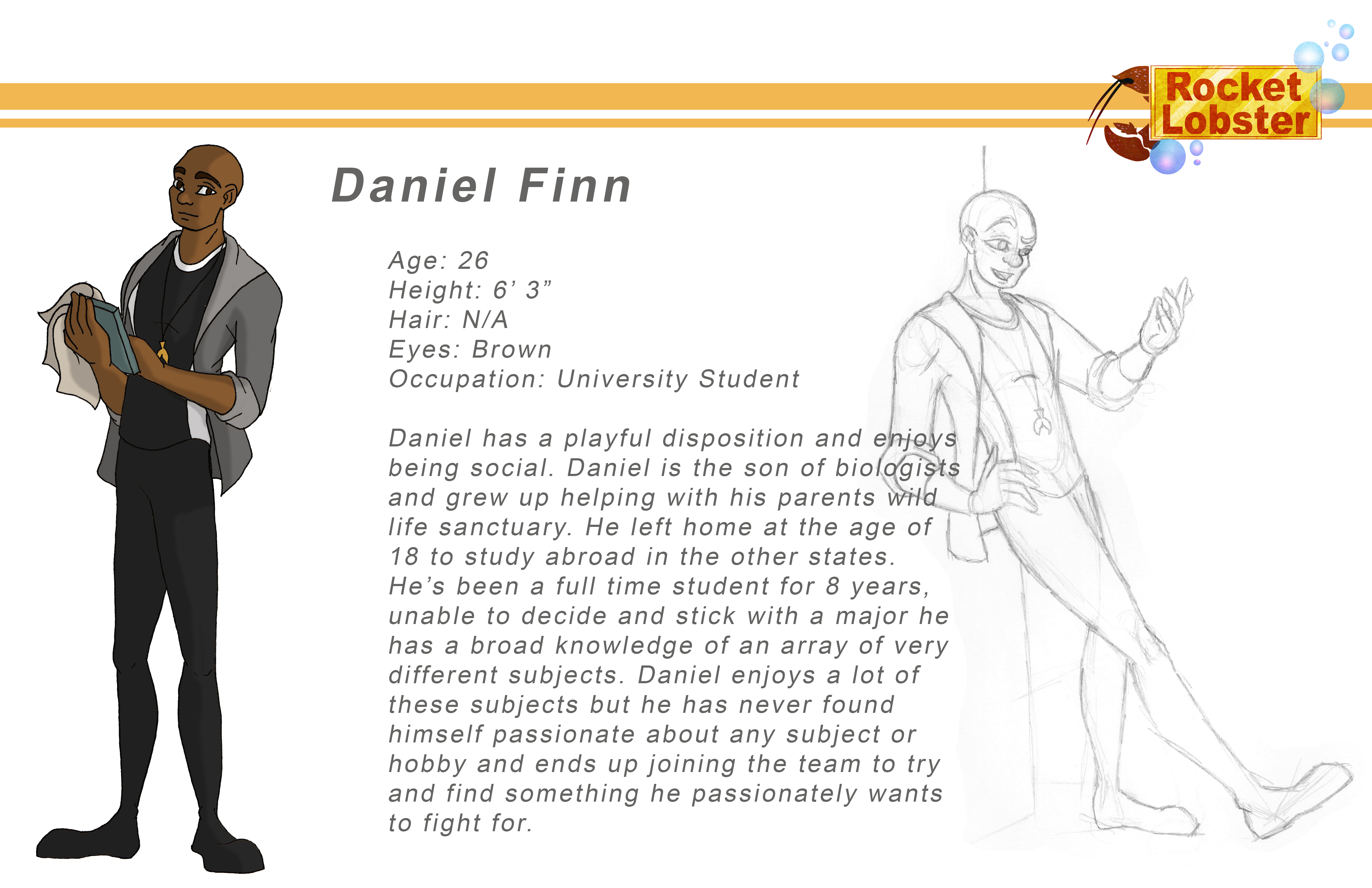 Daniel Character Page