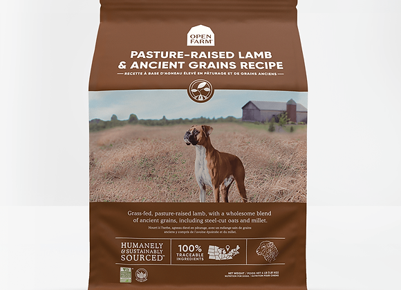 Pasture Raised Lamb With Ancient Grains