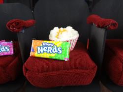Close Up Popcorn & Candy