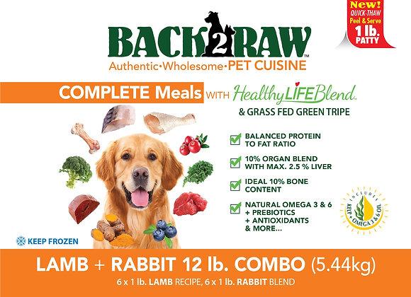 Lamb & Rabbit Combo