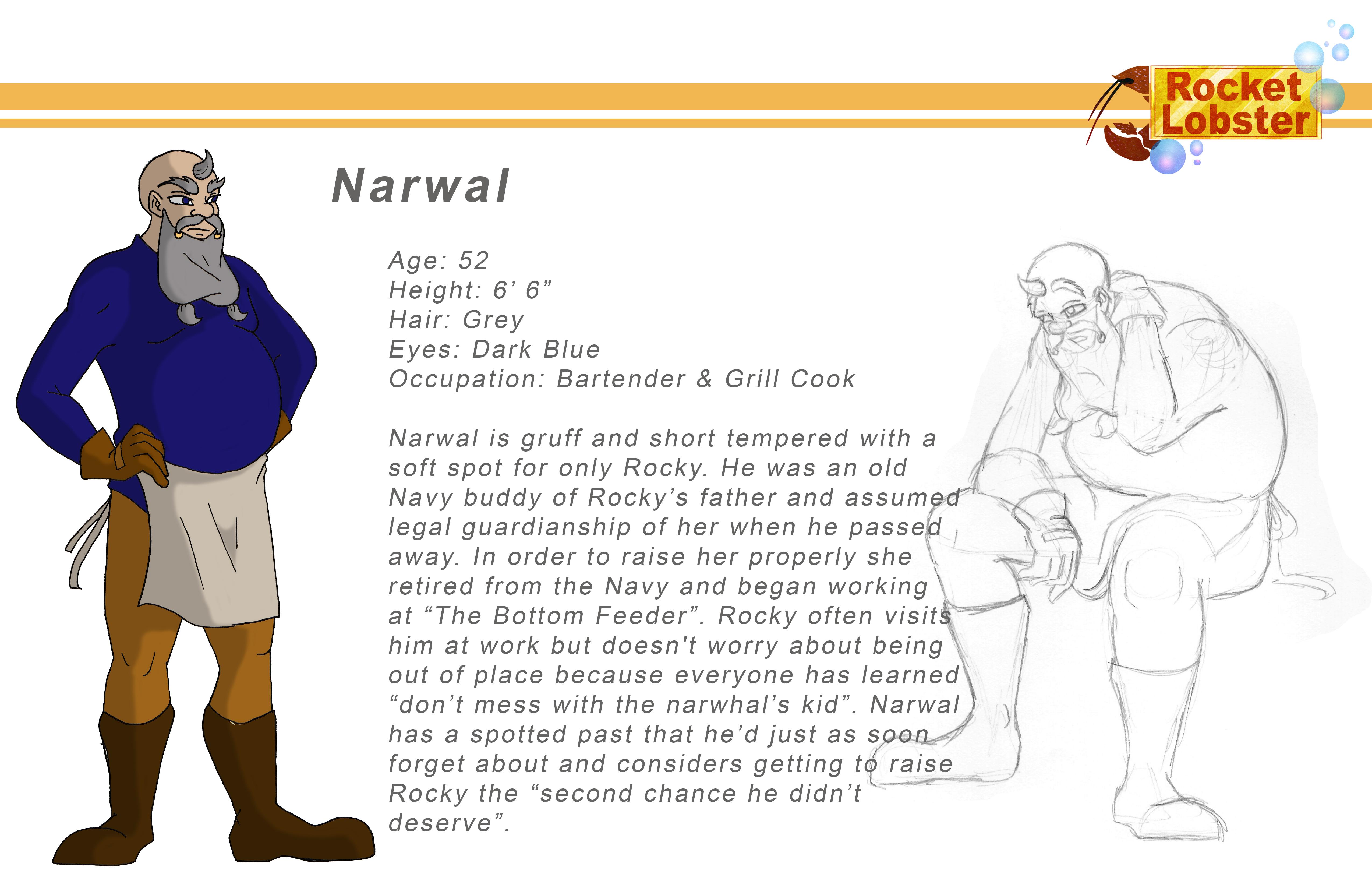 Narwal Character Page