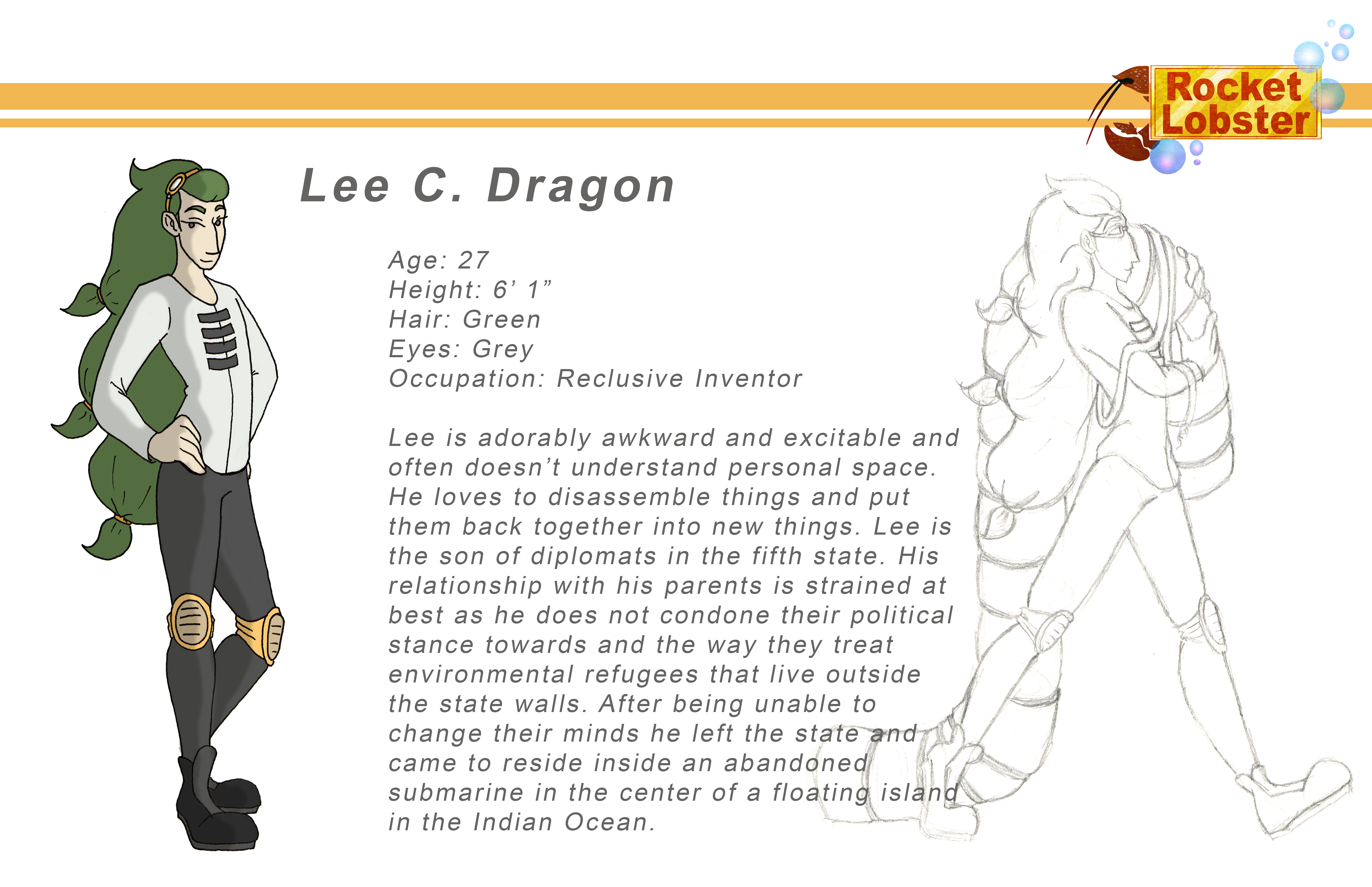 Lee Character Page