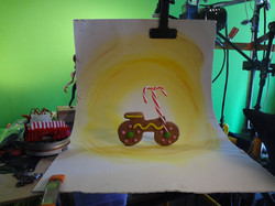Gingerbread Motercycle