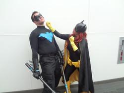 Batgirl & Nightwing Cosplay