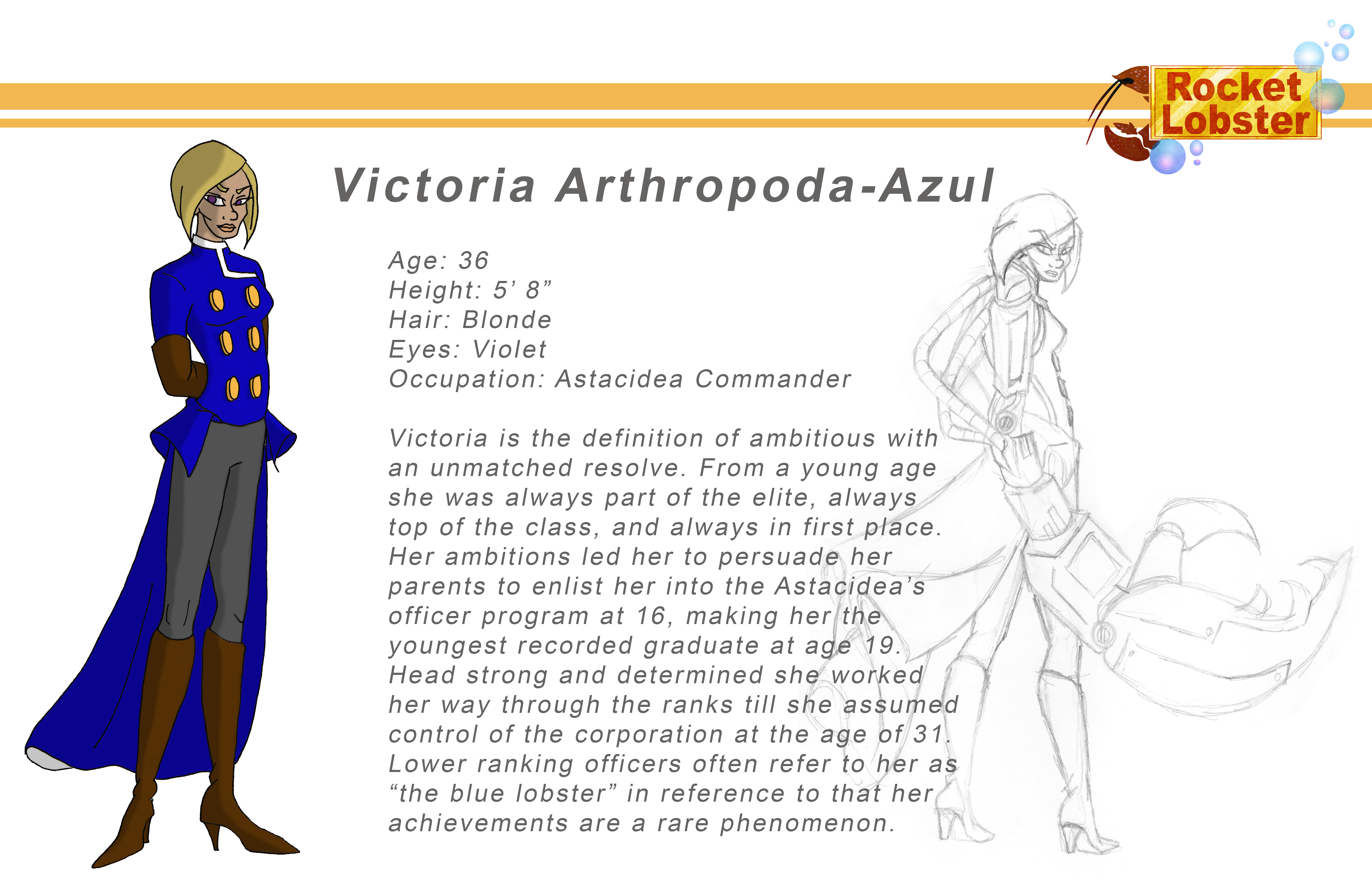 Victoria Character Page