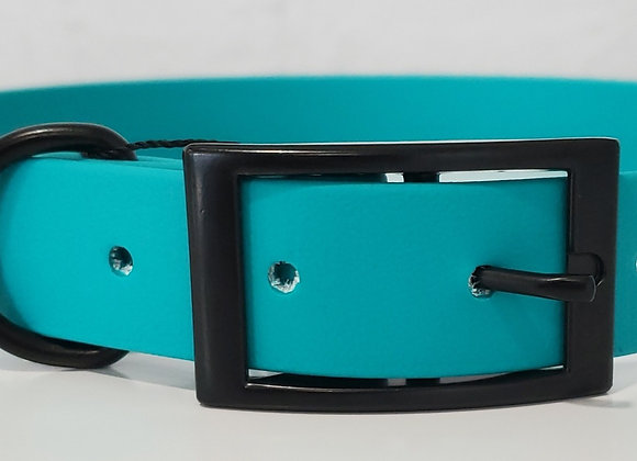 Teal with Matte Black