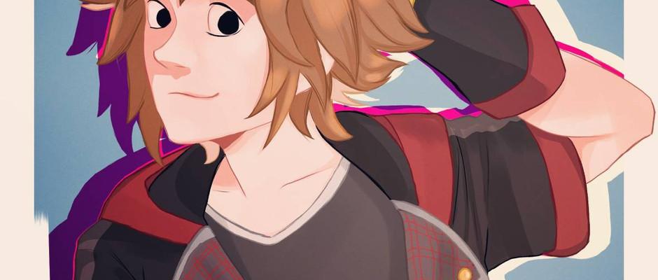 Kingdom Hearts Fan art 2