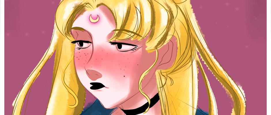 Sailor Moon Fan art 1