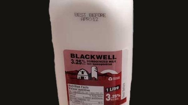 Milk: 3.25% 1L