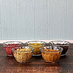 instant hummus - all 5 flavours bowls si