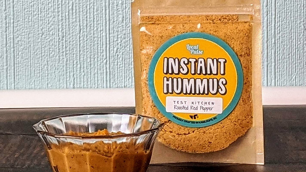 Instant Hummus : Roasted Beet+Red Onion,Chipotle Black Bean,Classic,Curry 45g
