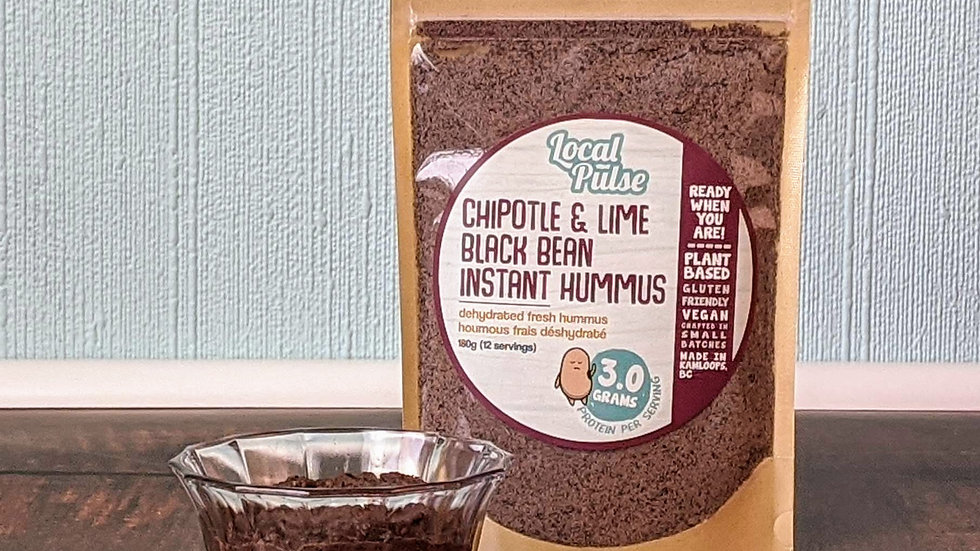 Instant Hummus : Black Bean,Roasted Red Pepper,Beet+Red Onion,Classic,Curry 180g