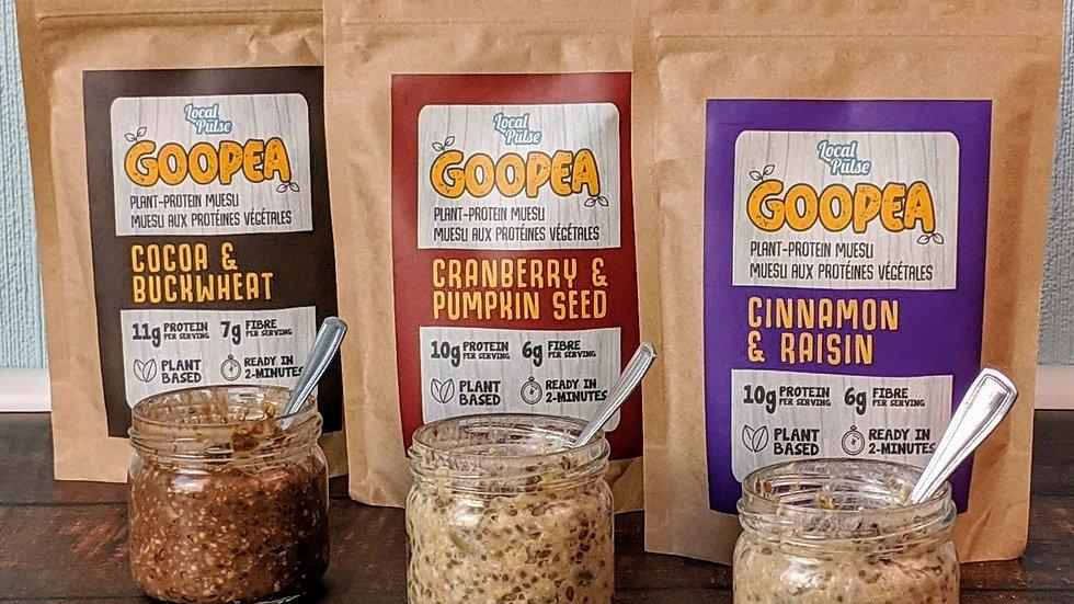GOOPEA: LiL Trio(Plant Protein Muesli)