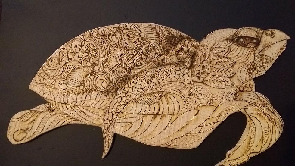 """""""Zentangle Turtle"""""""